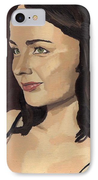 Portrait Of Solomia IPhone Case
