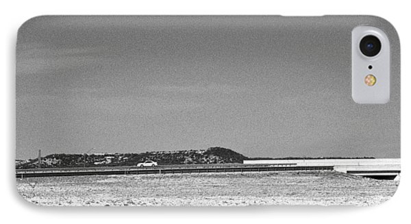 Postcard From The Edge Of Town IPhone Case