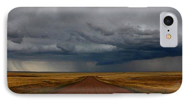 Prairie Storm In Canada IPhone Case