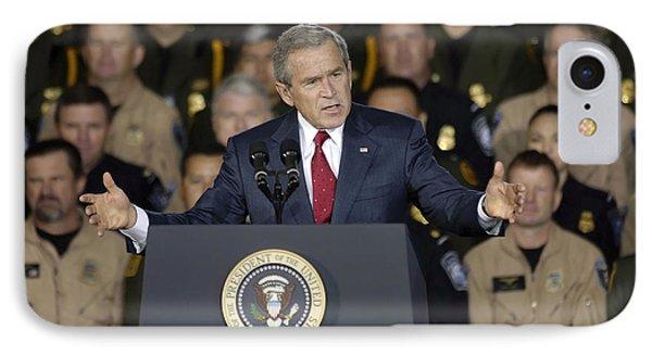 President George W. Bush Speaks IPhone Case
