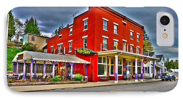 Purple Fiddle In Thomas Wv IPhone Case
