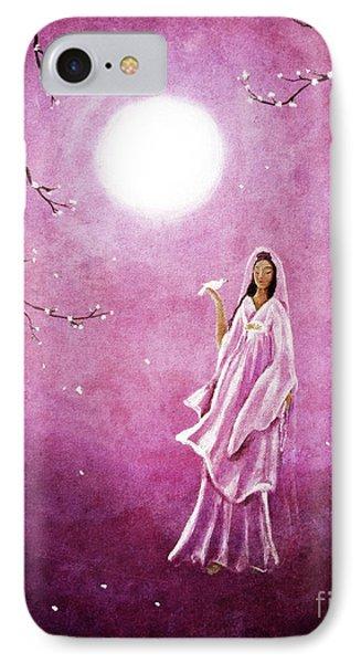 Quan Yin In The Rosy Dawn IPhone Case