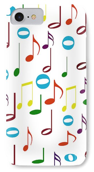 Rainbow Notes IPhone Case