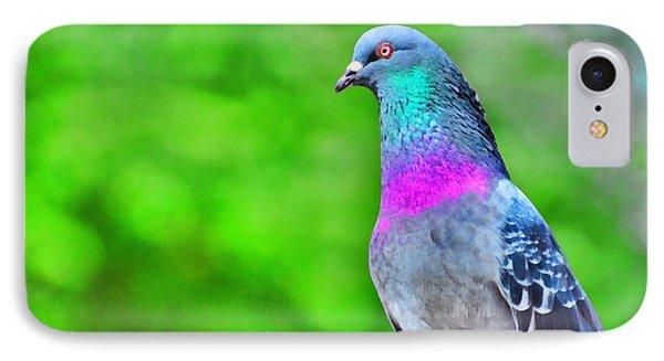 Rainbow Pigeon IPhone Case
