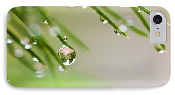 Raindrops On Needles IPhone Case