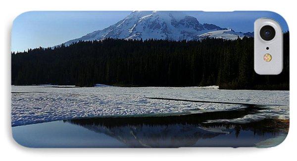 Rainier Reflected IPhone Case