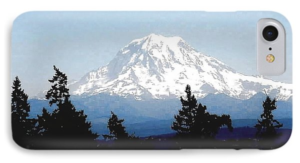 Rainier Reign IPhone Case