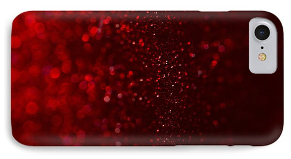Red Sparkle IPhone Case