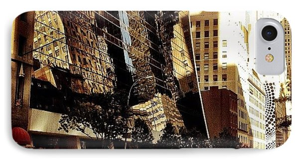 Reflections - New York City IPhone Case