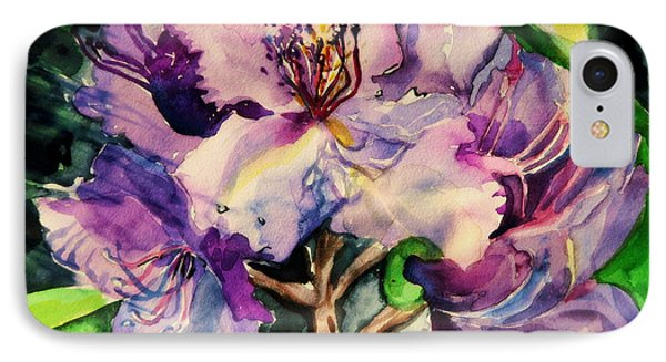 Rhododendron Violet IPhone Case