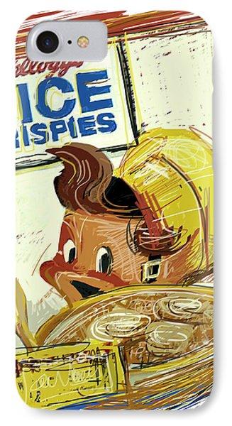 Rice Krispies IPhone Case