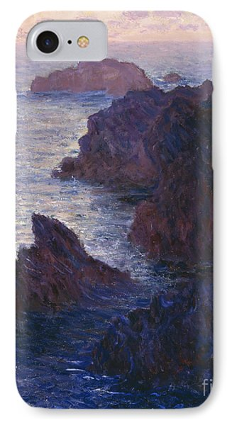 Rocks At Bell Ile Port Domois IPhone Case