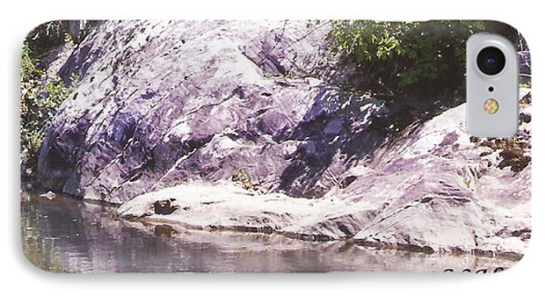 Rocks On The Bank IPhone Case