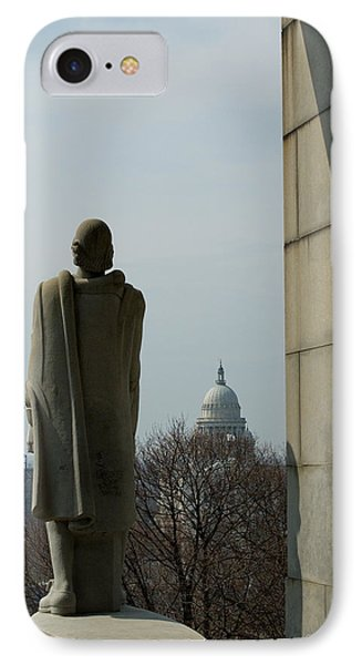Roger Williams And His Capitol IPhone Case