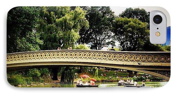 Romance - Central Park - New York City IPhone Case