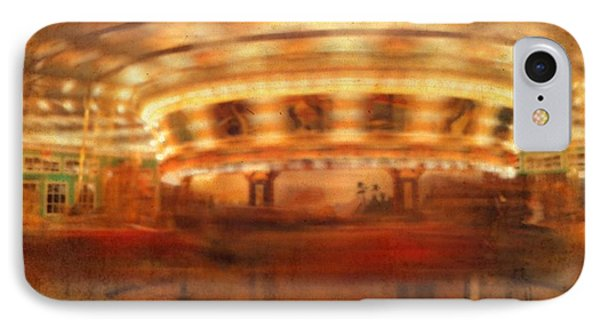 Round And Round Goes The Dentzel Carousel At Glen Echo Park Md IPhone Case