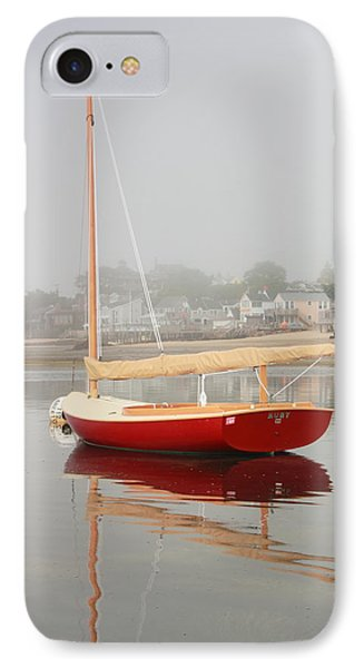 Ruby Red Catboat IPhone Case