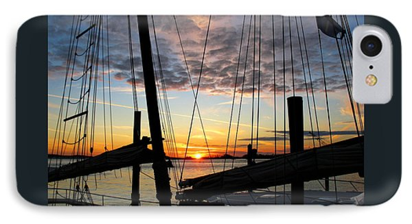 Sail At Sunset IPhone Case