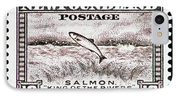 Salmon King Of The Rivers IPhone Case