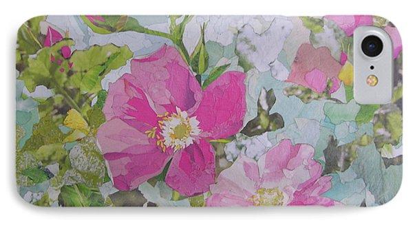 Shrub Roses IPhone Case