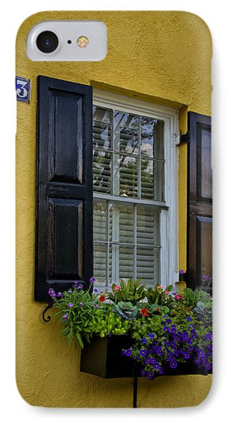 Shutters And Window Boxes IPhone Case