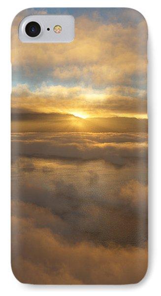 Silver Lake Sunrise IPhone Case