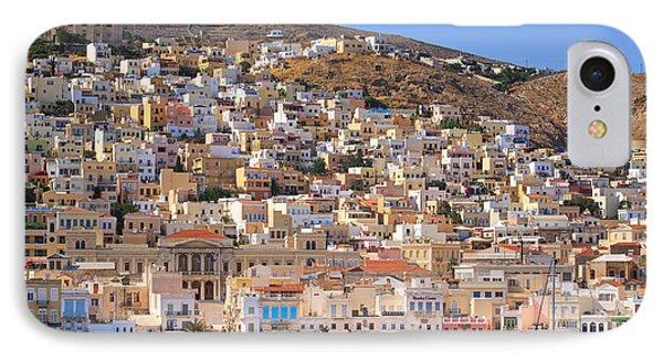Siros Greece 2  IPhone Case