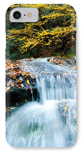 Smoky Mountain Waterfall IPhone Case