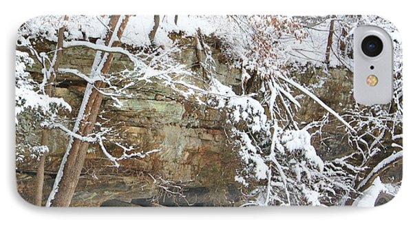 Snow And Sandstone IPhone Case