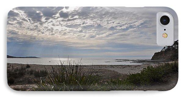 Solitary Sea Kayak At Dawn In Australia IPhone Case