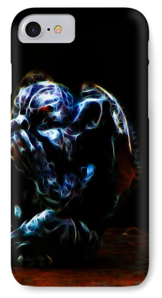 Speak No Evil Gargoyle IPhone Case