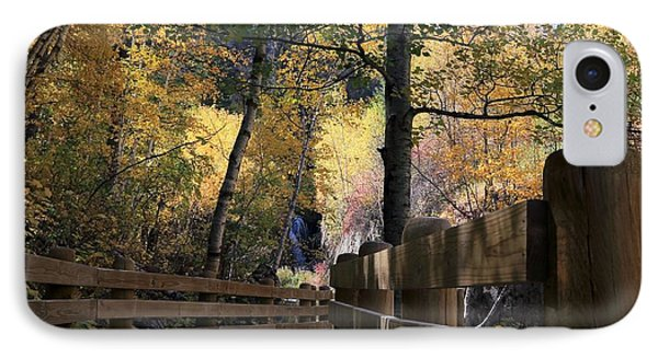 Spearfish Canyon Walkway IPhone Case