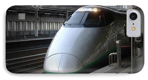 Train iPhone 8 Case - Speed Train by Naxart Studio