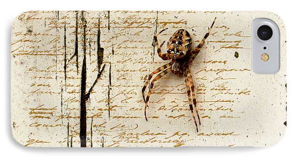 Spider Letter IPhone Case