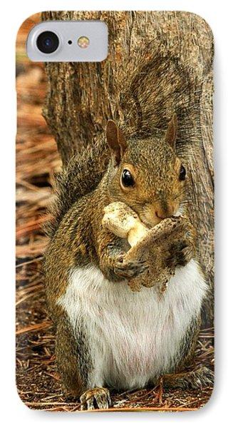 Squirrel On Shrooms IPhone Case