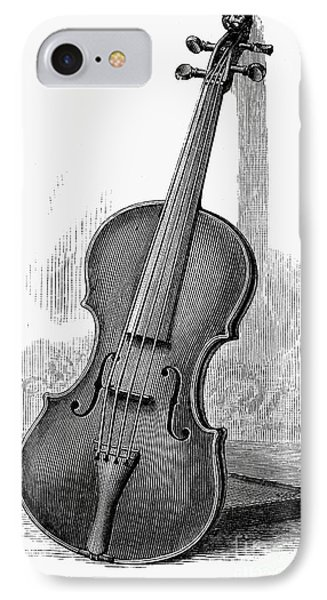 Violin iPhone 8 Case - Stainer Violin by Granger
