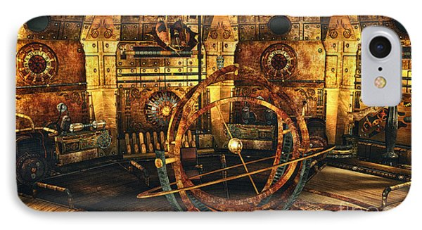 Steampunk Time Lab IPhone Case
