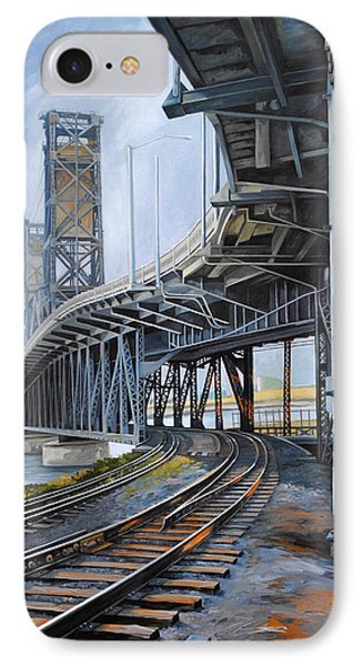 Steel Bridge 2012 IPhone Case