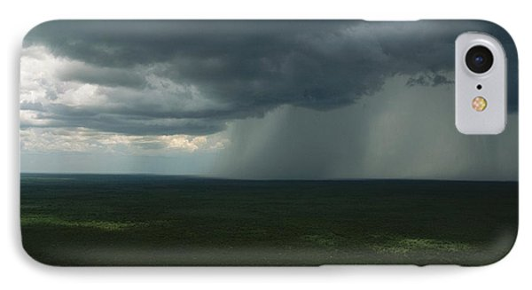 Republic Of South Africa iPhone 8 Case - Storm Clouds Over The South African by Kenneth Garrett
