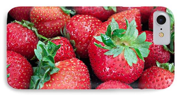Strawberry Delight IPhone Case