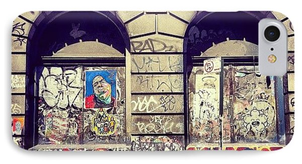 Street Art On The Bowery - New York City IPhone Case
