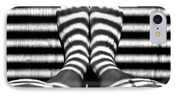 Stripe Socks? IPhone Case