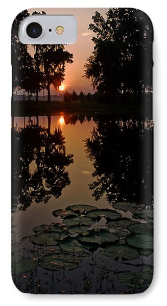 Sunrise From My Pad IPhone Case
