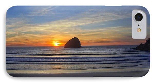 Sunset At Cape Kiwanda Oregon IPhone Case