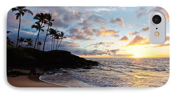 Sunset At Ulua Beach IPhone Case