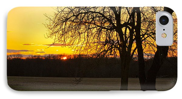 Sunset Near The Jersey Shore IPhone Case