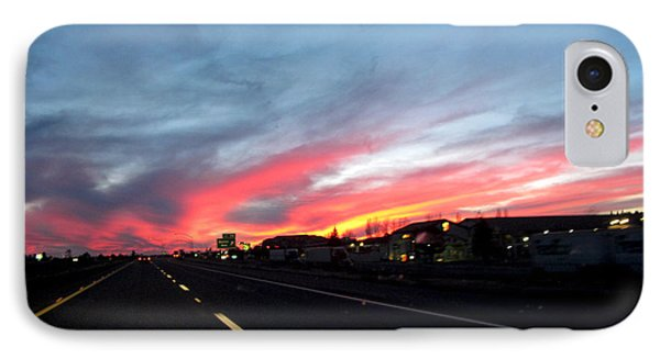 Sunset On Route 66 IPhone Case