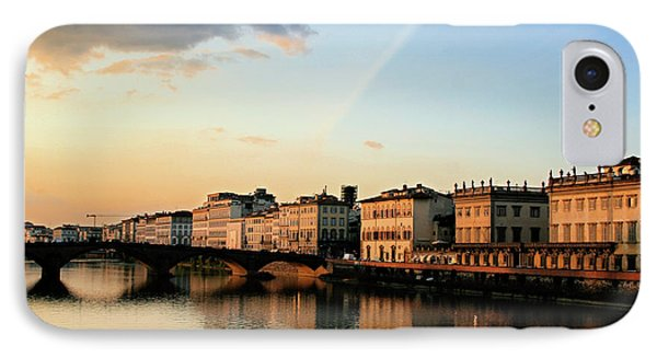 Sunset On The Arno 2 IPhone Case