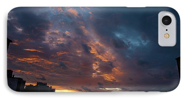 Sunset Over Brooklyn Post Irene IPhone Case