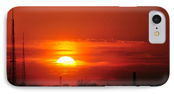 Sunset Over Washington Dc IPhone Case